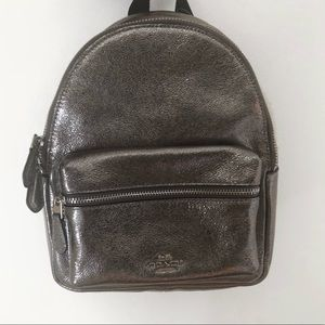 coach campus mini backpack